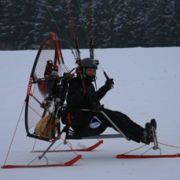 support ski en aluminium